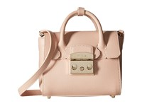 Furla Metropolis Mini Satchel Magnolia Satchel Handbags Bone