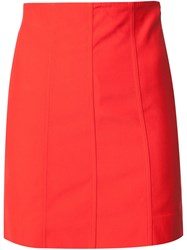 Y Project Multi Panel Skirt Red