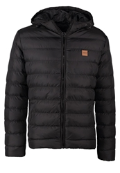 Urban Classics Basic Bubble Winter Jacket Black