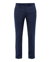 Ted Baker Men's Wingtro Modern Fit Trousers Bright Blue