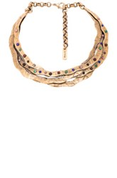 Etro Choker In Metallics