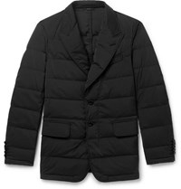 Tom Ford Slim Fit Quilted Shell Down Jacket Black