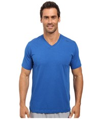 Tasc Performance Vital V Neck Cobalt Men's Workout Blue