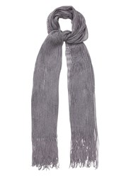 Phase Eight Mira Shimmer Scarf Grey Marl