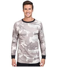 686 Frontier Base Layer Top Khaki Camo Men's Clothing Multi