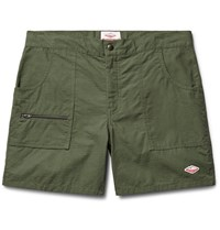Battenwear Local Slim Fit Cotton Ripstop Shorts Army Green