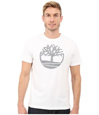 Timberland Kennebec River Tree Logo T Shirt White Men's T Shirt