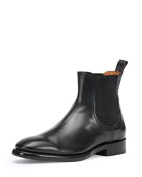 Frye Weston Leather Chelsea Boot Black