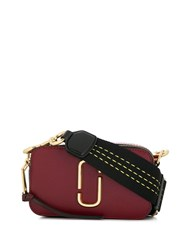 Marc Jacobs Double J Crossbody Bag Red