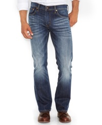 Levi's 527 Slim Fit Bootcut Jeans Wave Allusions