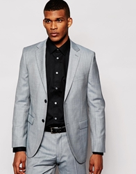 Dkny Classic Fit Suit Jacket Grey