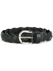 Etoile Isabel Marant Braided Belt Black