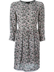 Zadig And Voltaire 'Riva Print Eve' Dress Black