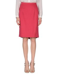 Moschino Cheap And Chic Moschino Cheapandchic Skirts Knee Length Skirts Women Coral