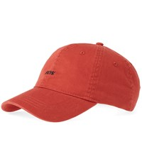 Wood Wood Low Profile Cap Red