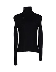 Vneck Turtlenecks Black
