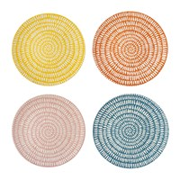Pols Potten Seeds Dinner Plate Set Of 4