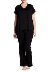 Barefoot Dreams Stretch Flare Pant Regular And Plus Size Black