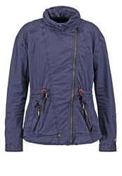 Khujo Jeen Summer Jacket Indigo Dark Blue