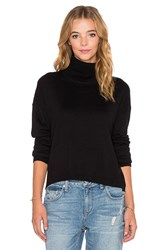 One Teaspoon Nighfall Cashmere Funnel Neck Sweater Black