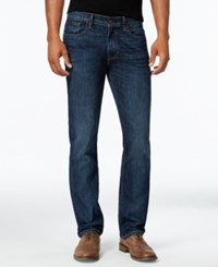 Tommy Hilfiger Men's Straight Leg Jeans Dark Wash