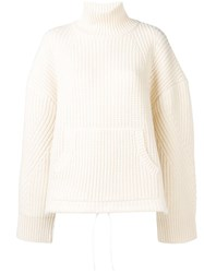 Undercover Turtleneck Sweater White
