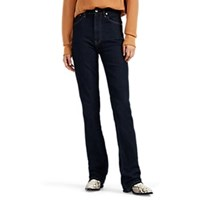 Helmut Lang High Rise Straight Jeans Md. Blue
