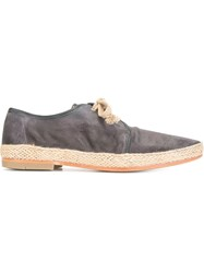 N.D.C. Made By Hand 'Maxim' Lace Up Espadrilles Blue