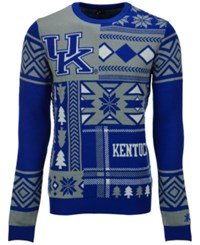 Forever Collectibles Men's Kentucky Wildcats Patches Christmas Sweater