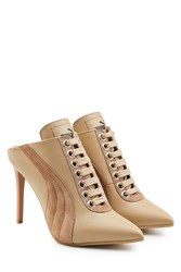 Fenty Puma By Rihanna Leather And Suede Mules