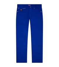 Ralph Lauren Black Label Embroidered Logo Straight Jeans Male