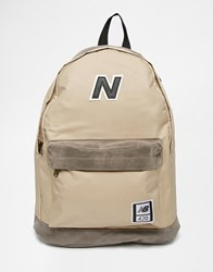 New Balance 420 Backpack Beige