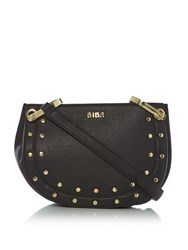 Biba Stud Detail Crossbody Bag Black