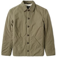 Wings Horns Insulated Deck Jacket Green