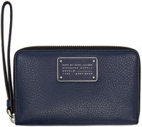 Marc By Marc Jacobs Navy New Too Hot To Handle Wallet