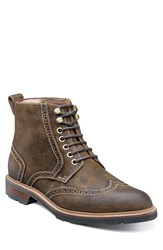 Men's Florsheim 'Kilbourn' Wingtip Boot Open Brown