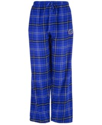 Concepts Sport Men's Florida Gators Ultimate Flannel Sleep Pants Royalblue