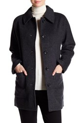 Madewell Wool Blend Coat Gray