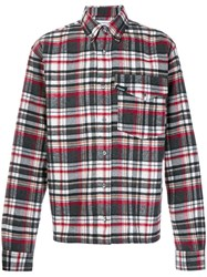 Gosha Rubchinskiy Checked Flannel Shirt Cotton Polyester