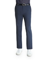 Theory Marlo New Tailor Suit Trousers Dark Blue