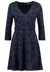 Marella Parana Jumper Dress Navy Dark Blue