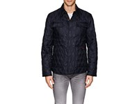 Rainforest Heated Diamond Quilted Jacket Navy