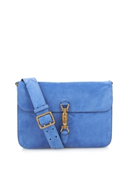Gucci Jackie Suede Cross Body Bag