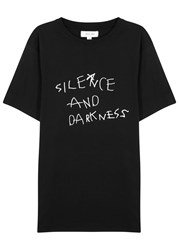 Soulland Darkness Black Cotton T Shirt