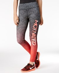 Energie Juniors' Molly Graphic Leggings Black Space