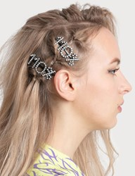 Ashley Williams 110 Hair Clip Silver