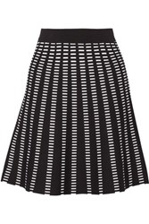 Ohne Titel Dash Stretch Jacquard Knit Mini Skirt Black