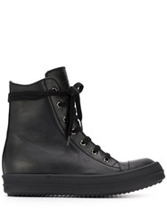 Rick Owens Lace Up High Top Sneakers 60