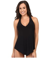 Magicsuit Solids Taylor Top Black Women's Swimwear