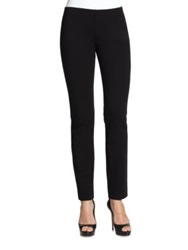Eileen Fisher Slim Stretch Ponte Pants Black
